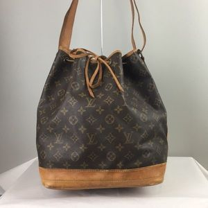 Louis Vuitton Noe shoulder purse tote bucket bag